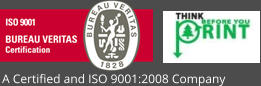 A Certified and ISO 9001:2008 Company